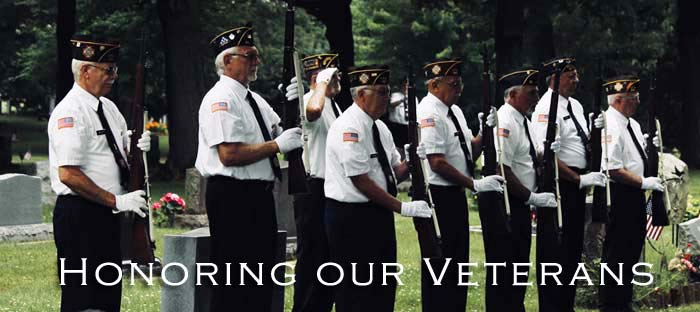 We salute and thank our veterans