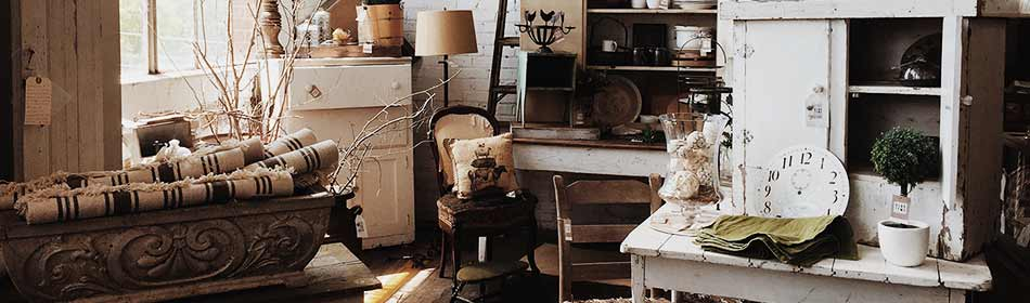 Antique Stores, Vintage Goods in the Warrington, Bucks County PA area