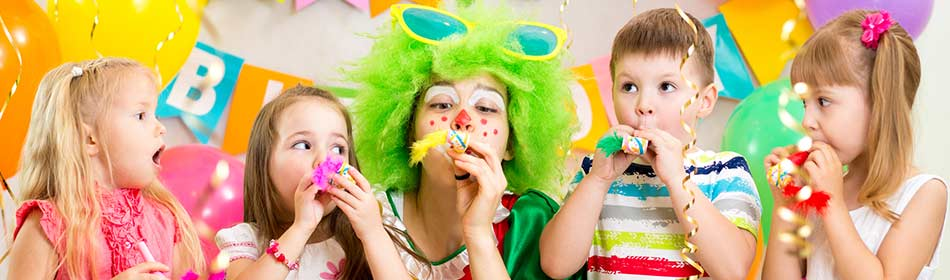 Party entertainment for children in the Warrington, Bucks County PA area