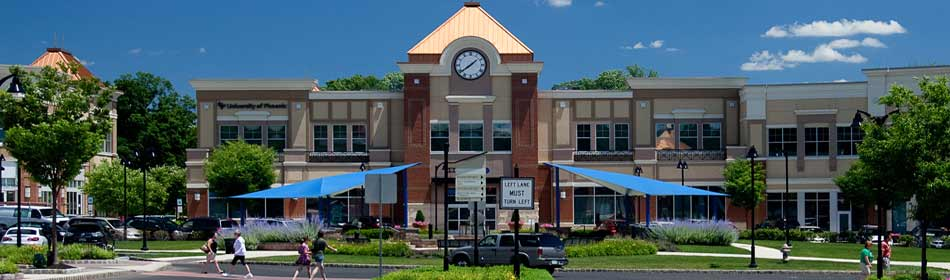 An open-air shopping center with great shopping and dining, many family activities in the Warrington, Bucks County PA area